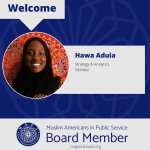 MAPS Welcomes Hawa Adula as Acting Communications and Advocacy Director