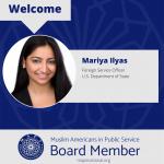 MAPS Welcomes Mariya Ilyas as Finance Director