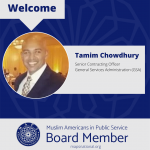 MAPS Welcomes Tamim Chowdhury as Program Director
