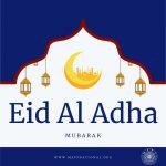 Eid Al-Adha Mubarak, on behalf of MAPS!