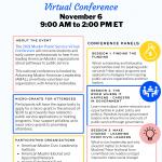 The 2021 Muslim Public Service Virtual Conference, November 6th